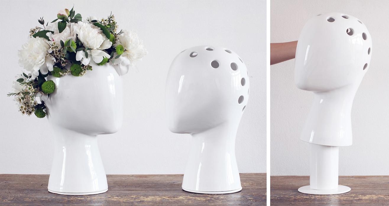 Las flores en floreros icoolhunting for Fabrica ceramica blanca