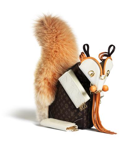 Louis Vuitton entre animales - 403 x 467  146kb  jpg