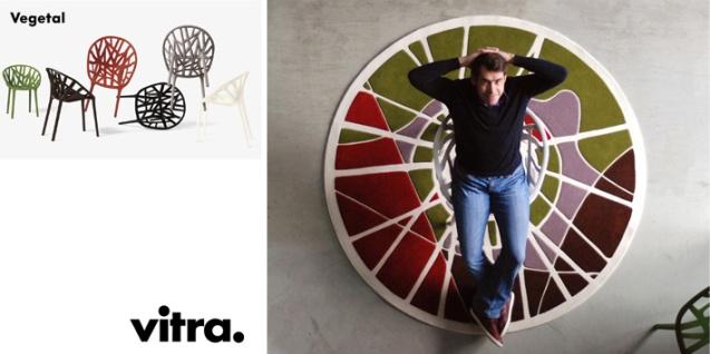Florian Pucher _segundo premio concurso vitra rediseño silla vegetal ronan erwan bourollec alfombra roots
